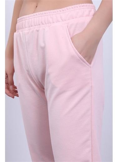 Rodi Jeans Kadın Basic Lastik Paça Alt Eşofman DS21YB098004 Pembe